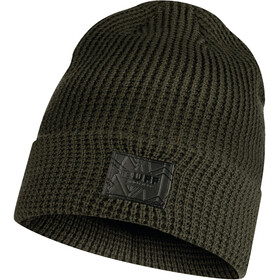 Buff Bonnet en maille tricotée, kirill forest green